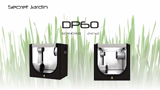 How to set up Secret Jardin grow tent DP60 | Product Tutorial
