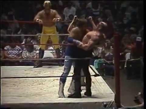 Road Warriors vs. Lawler and Idol- Memphis Wrestling