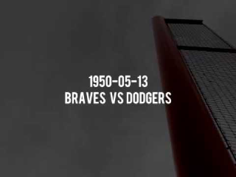 1950 05 13 Boston Braves at Brooklyn Dodgers (Red Barber) Radio Broadcast OTR Baseball