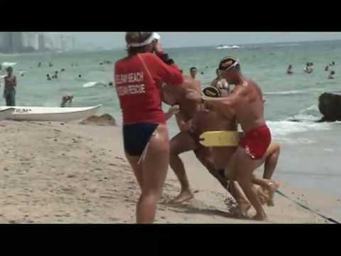 USLA National Lifeguard Championship 2009 Mens Rescue