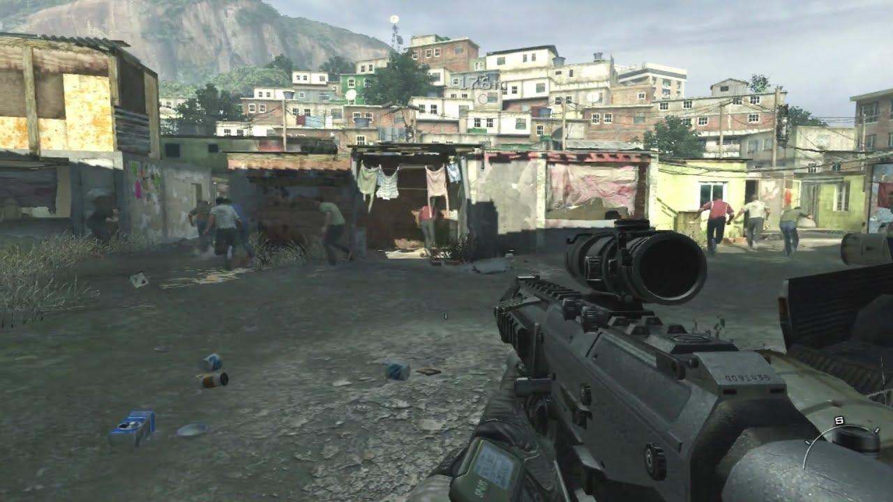 call of duty modern warfare 2 favela rio de janeiro