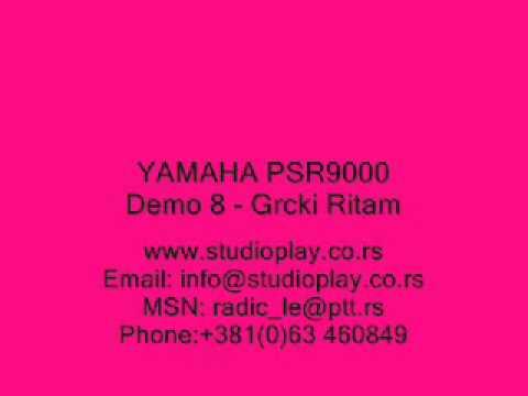 Style psr9000 yamaha