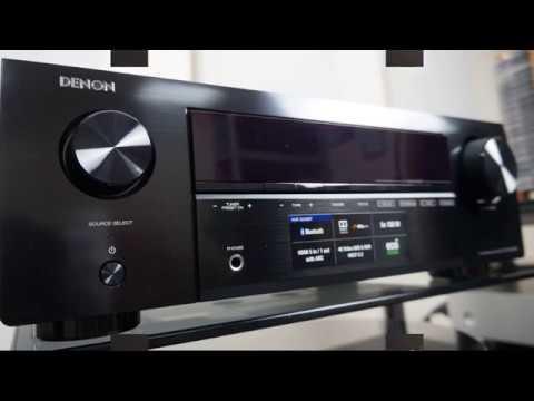 Denon AVR-X250BT обзор AV-ресивера