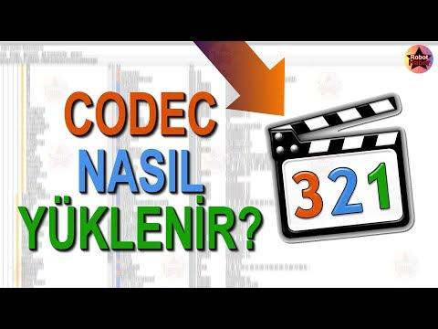 Bilgisayara CODEC nasıl yüklenir? Video Codec yükleme, K-Lite Codec Pack indirme