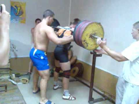 Squat 350 kg by 82,5