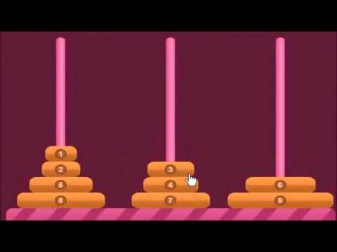 Hanoi Towers game and C++ Programming - Tirana Education