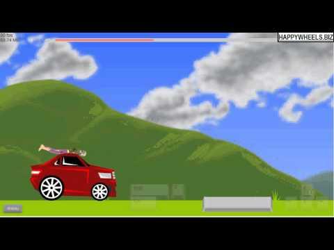 Level Car Thief Happy Wheels Game Level Walkthrough