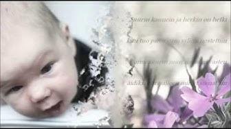 Cuulas - Elämän salaisuus (Vastarannalla cd:llä) finnish song about baby / newborn
