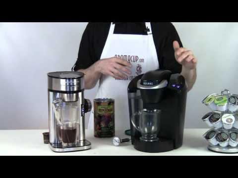 Keurig Brewer Vs Scoop Hamilton Beach Coffee Maker