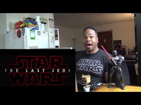 Thumbnail: Star Wars: The Last Jedi Official Teaser REACTION!!!