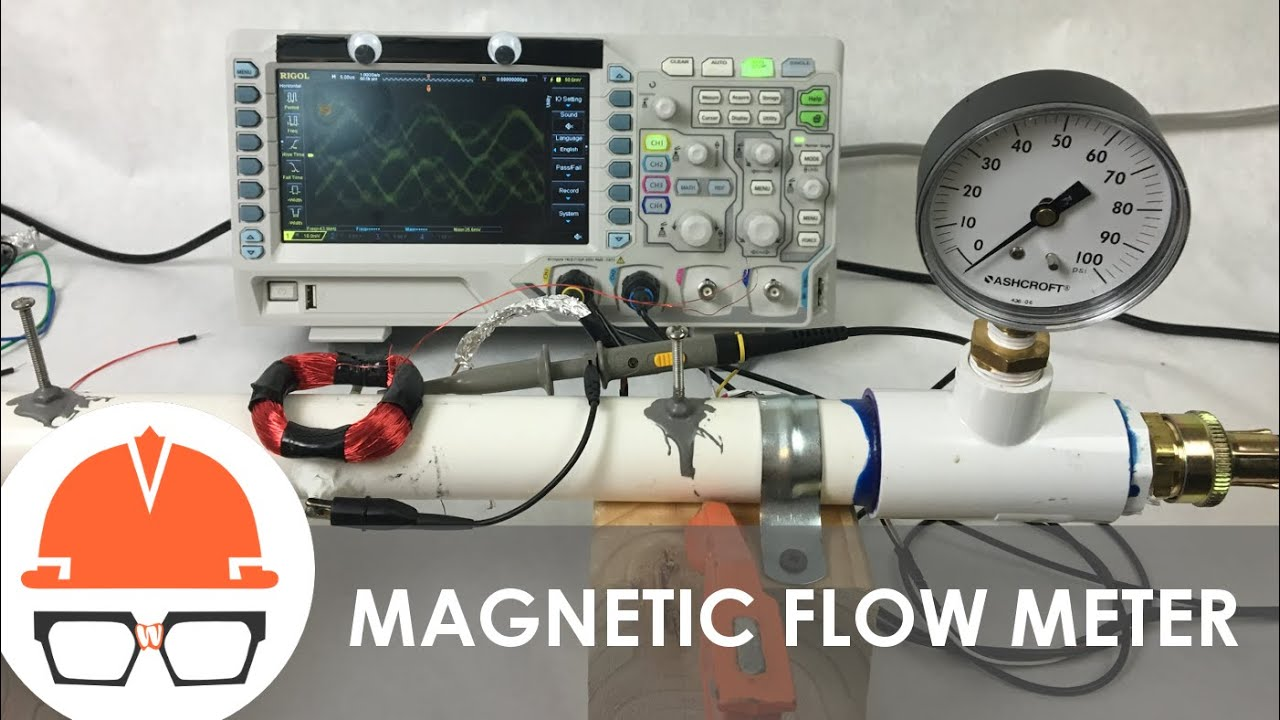 Magnetic Flow Meter — Practical Engineering on