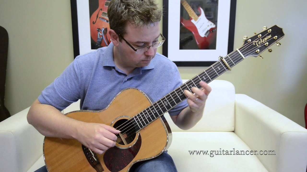 The Story By Brandi Carlile Played By Lance Allen Fingerstyle