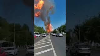 В Волгограде взорвалась газовая АЗС ! СРОЧНО !