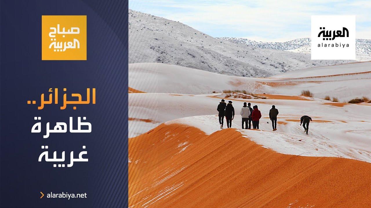 أخبار بلا سياسة   مشاهد مدهشة لظاهرة غريبة في الصحراء الجزائرية  - نشر قبل 10 ساعة