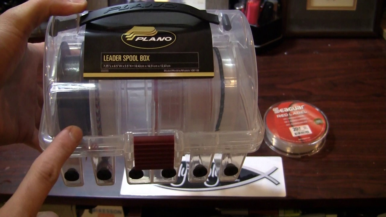 Plano Leader Spool Box Youtube