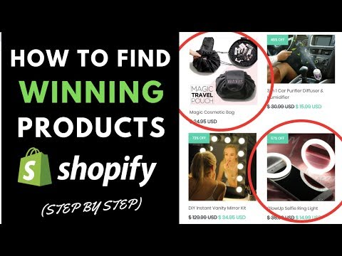 How To Find Winning SHOPIFY Products In 2019 (FREE Product List) thumbnail