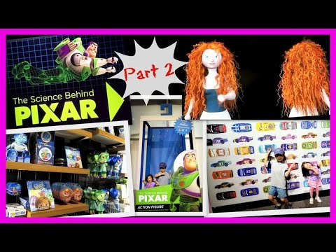 Family FUN at The SCIENCE Behind PIXAR || The Franklin Institute in Philadelphia, PA (PART 2)