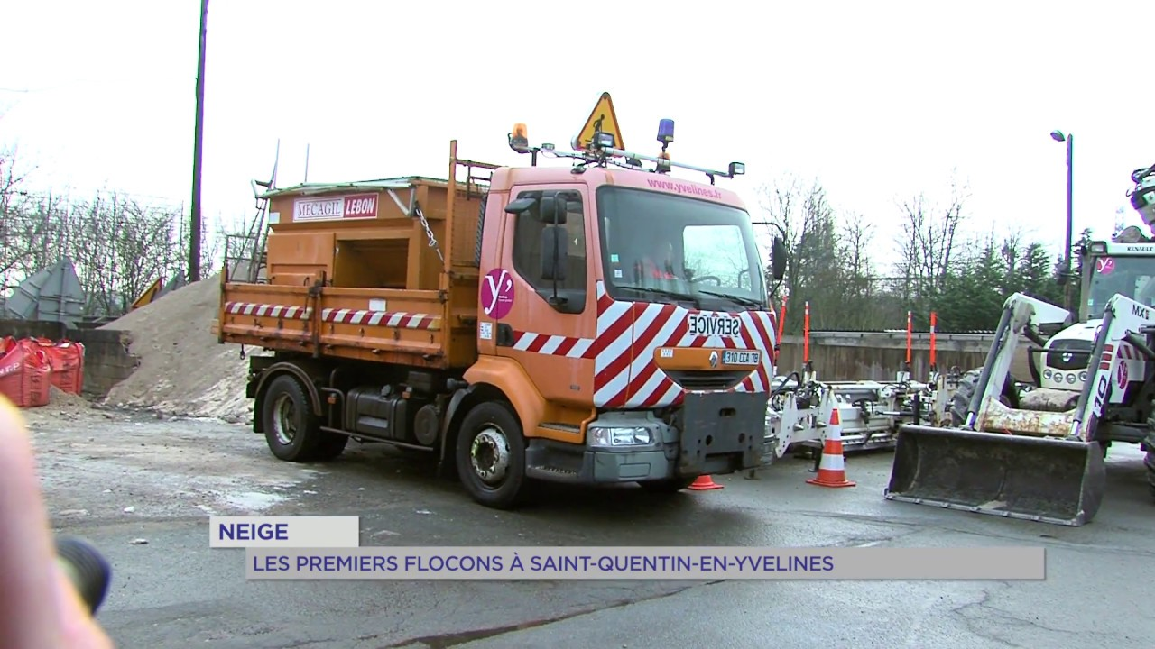 Neige : les premiers flocons à Saint-Quentin-en-Yvelines