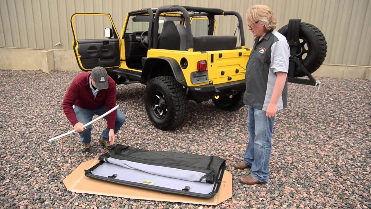 Bestop Installation Of A Trektop Nx On A Tj 97 06 Jeep