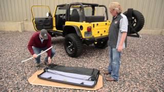 Bestop Installation of  a Trektop NX on a TJ (97-06) Jeep Wrangler
