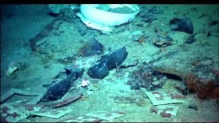 Novas Imagens do naufrágio do Titanic.