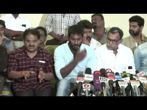 Nadigar Sangam Press Meet