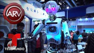 Advierten sobre peligros de China como potencia mundial tecnológica | Al Rojo Vivo | Telemundo