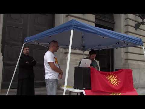 LOMA Speaks in Cleveland on Macedonia's Independence Day 2018