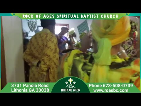 SPIRITUAL BAPTIST-ROCK OF AGES(ATLANTA)- AFRICAN-CARIBBEAN CELEBRATION PART 1 (2017)
