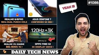 Realme 6 Pro 90Hz Dual Punch hole,Asus Zenfone 7 Confirmed,Iphone 12 Delayed,Xiaomi vs Realme #1086