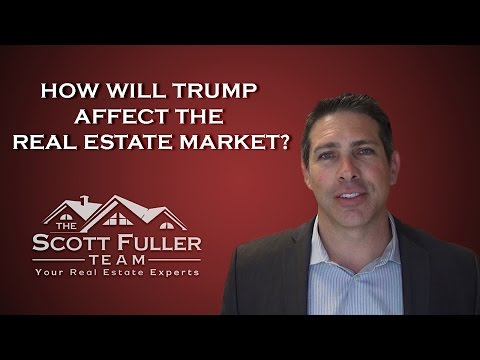 East Bay Real Estate Agent: How Will Trump Affect The Real Estate Market?