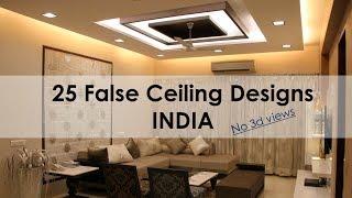 False Ceiling Designs India For Living