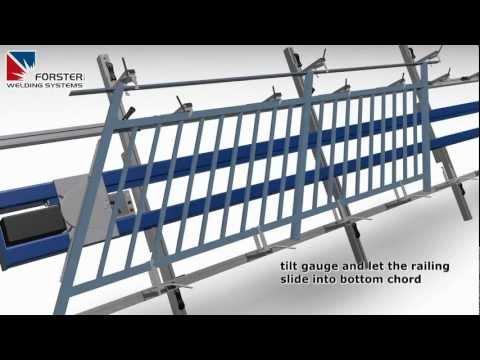Railing Welding Gauge Welding Table Weld Jig Youtube