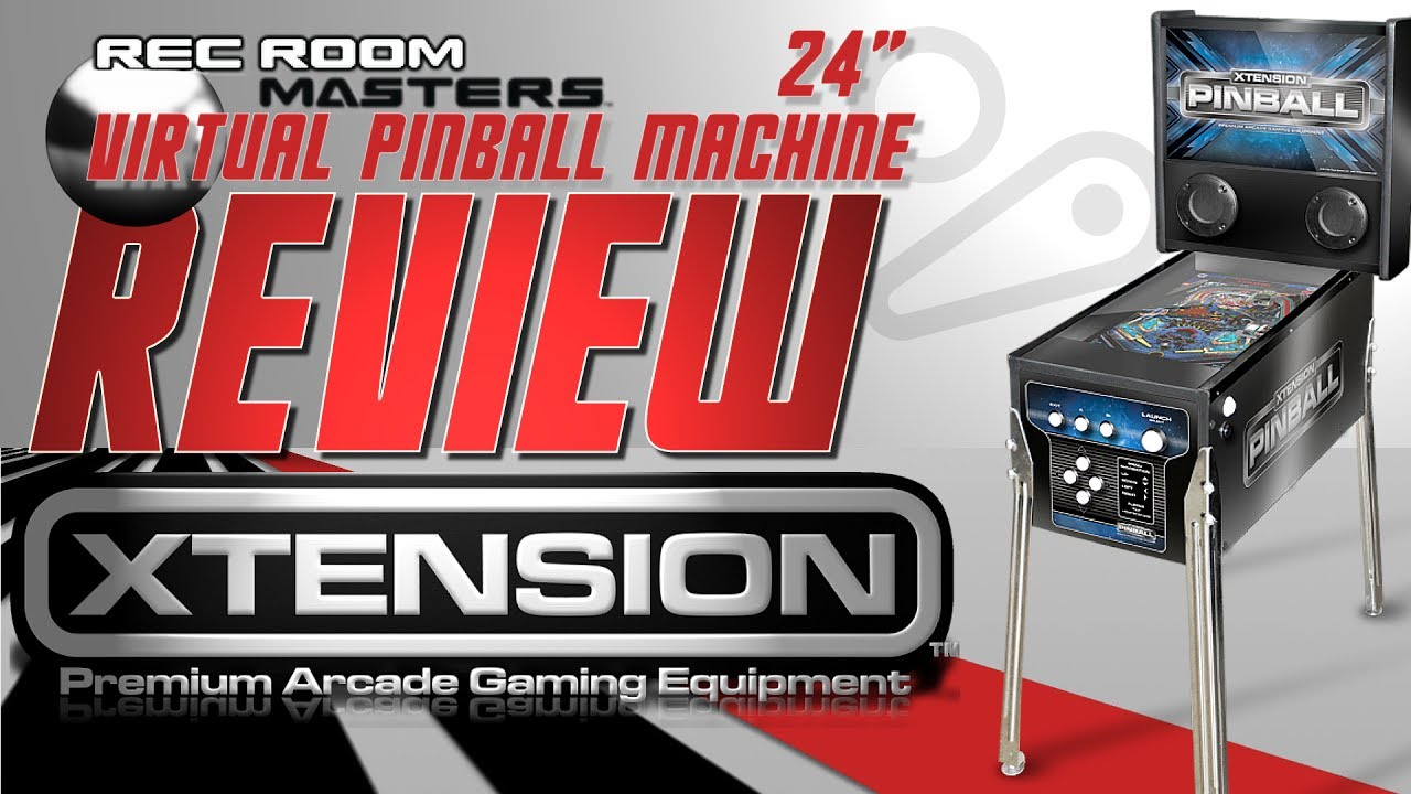 REVIEW 24` RecRoomMasters Virtual Pinball Table