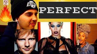Ed Sheeran ft. Beyoncé - Perfect (Jade Novah Cover)- REACTION