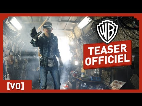 Ready Player One - Teaser Officiel Comic Con (VO) - Steven Spielberg