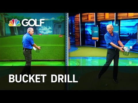 Bucket Drill - Lesson Tee Live | Golf Channel