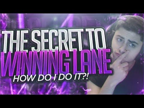 Yassuo | THE SECRET TO WINNING LANE? HOW DO I DO IT?!?