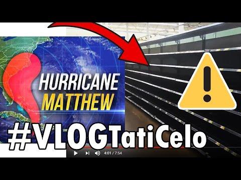 ⚠#VlogFURACÃO 2: NÃO ACREDITO QUE PRATELEIRAS FICAM VAZIAS   HURRICANE MATTHEW
