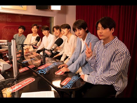 BTS Reacts to BTS ARMY's RDMA Nomination | Radio Disney