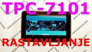 Rastavljanje android tableta VIVAX TPC-7101 Disassembly