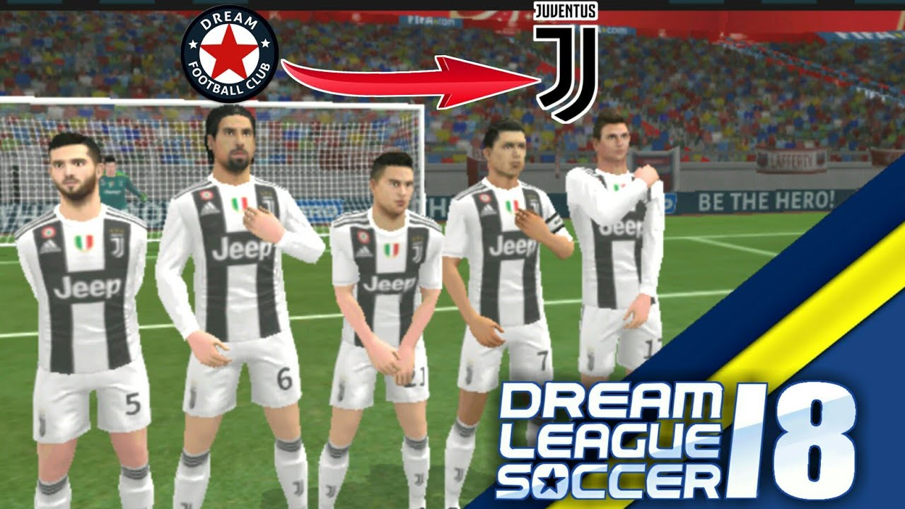 43f46f73c Create Juventus Team With Cristiano Ronaldo ☆ Kit Logo   Players ☆ Dream  League Soccer 2018