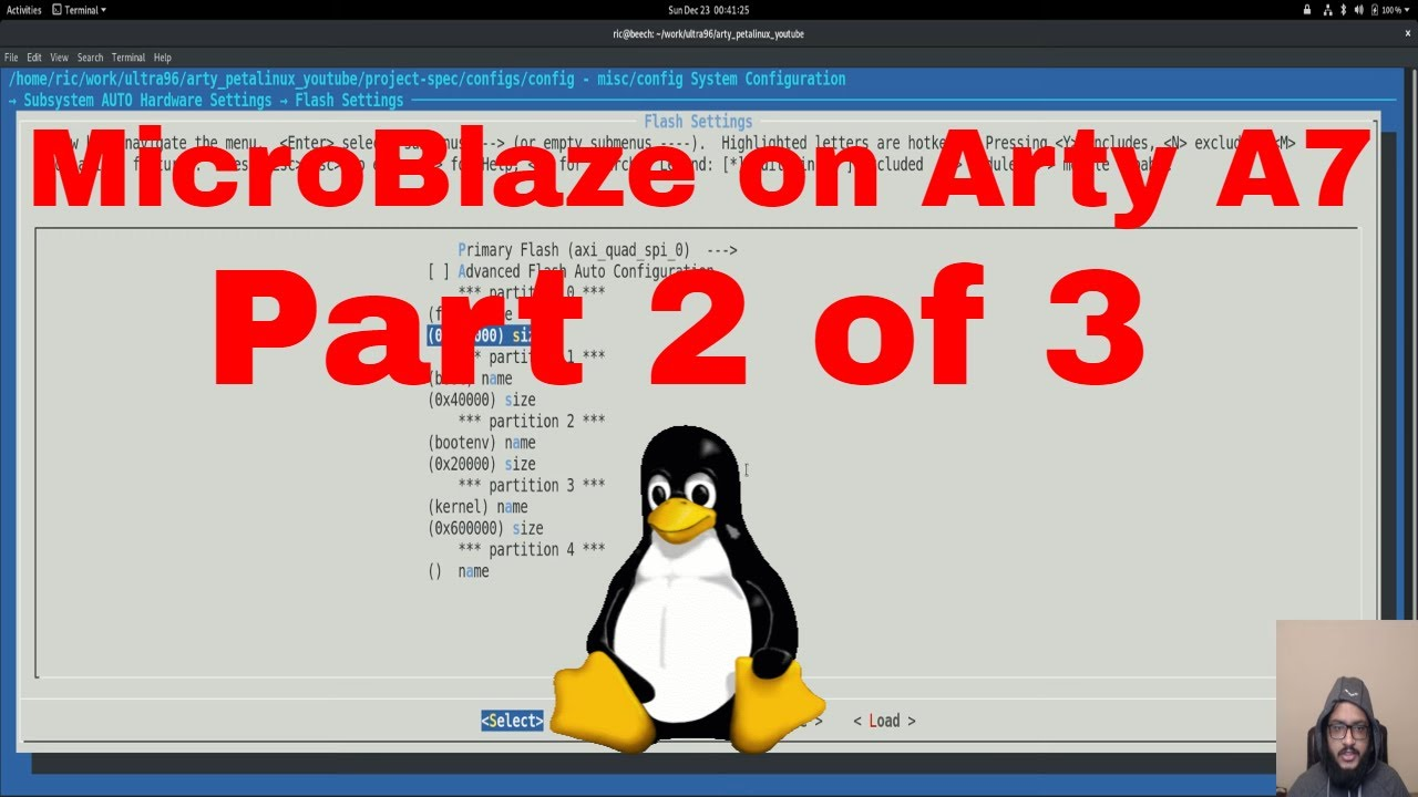 Designing a custom Linux SoC using Xilinx MicroBlaze on Arty A7 | Part 2:  Building Linux