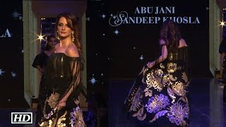 Sussanne Khan almost TRIPS on Ramp   Watch Video