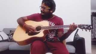 Hindi songs mashup guitar cover ft. San