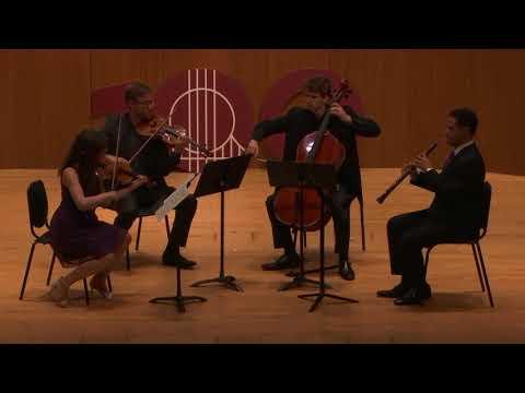 Mozart Quartet SFCM Adagio (E. Izotov, M. VanDerSloot, J. Vinocour, N. Denton)