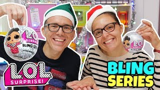 LOL Surprise SERIE BLING di NATALE 🎄: Apertura di Coppia GBR
