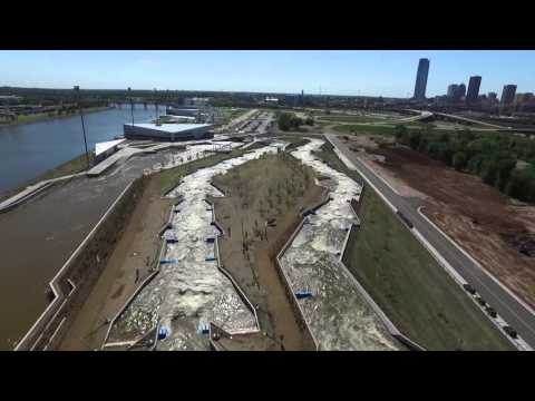 Arial Video of Oklahoma City Boathouse Riversport Adventures