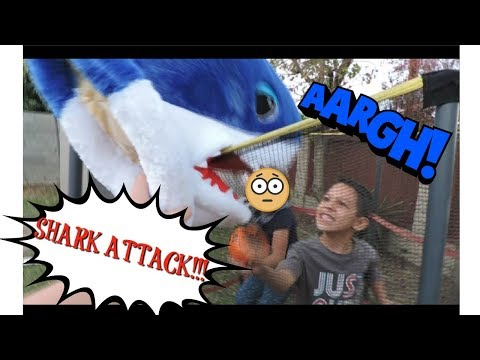 Treasure Hunt Shark Attack with Saiah and Ally!! | LEARN THE COLORS IN SPANISH!!