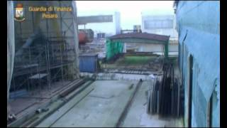 Sequestrati beni di lusso al Cantiere Navale di Pesaro